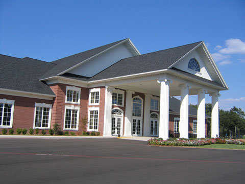 A view of the clubhouse at Northridge Country Club
