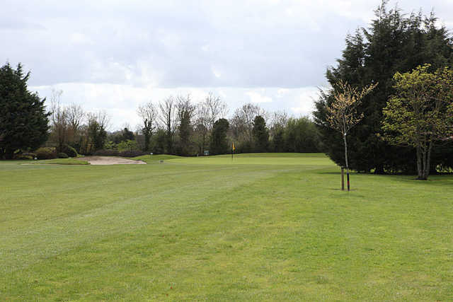 A view of the 16th green at Castlewarden Golf Club