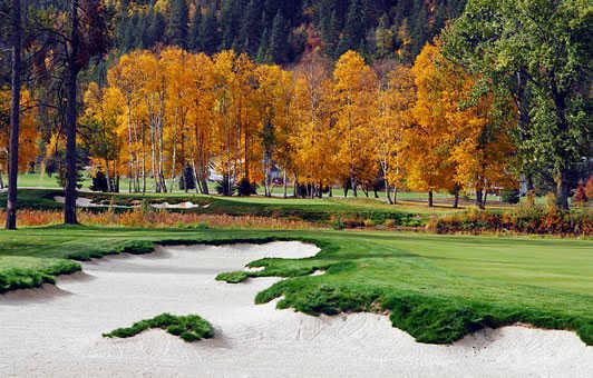 A fall view from Idaho Club