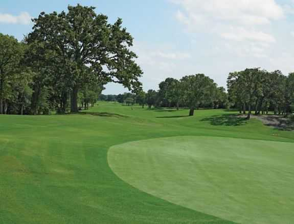 A view from Southern Oaks Golf Club