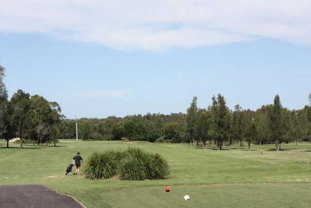 A view from tee at Beresfield Golf Course