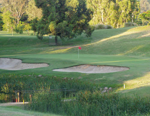 A view of the 5th hole at Jindalee Golf Club