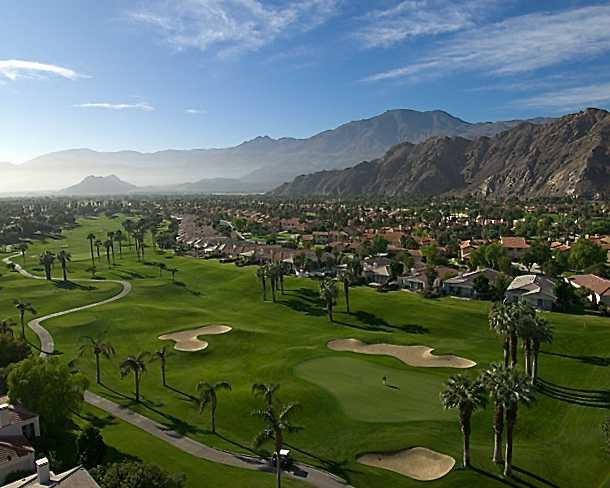 PGA West - Arnold Palmer: Aerial view from #3