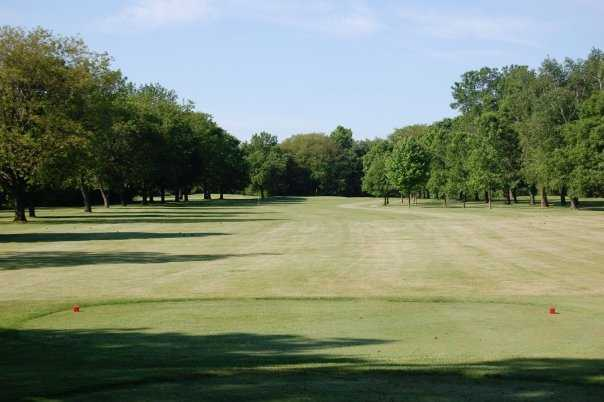 A view from the 13th fairway at Browns Lake Golf Course