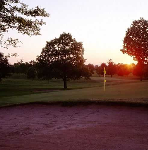 A view of the 7th green at Johnson Park Golf Course
