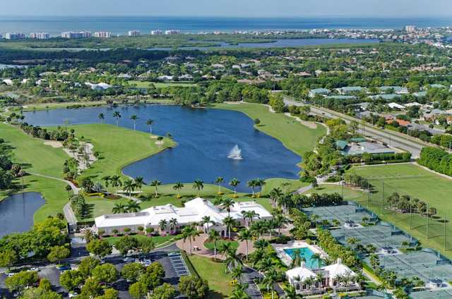 Aerial view from Audubon Country Club