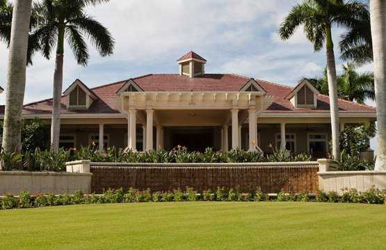 A view of the clubhouse at Collier's Reserve Country Club