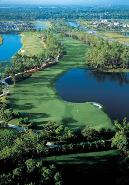 Aerial view from Grey Oaks Country Club