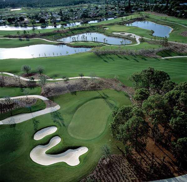 Aerial view from LaPlaya Beach & Golf Resort