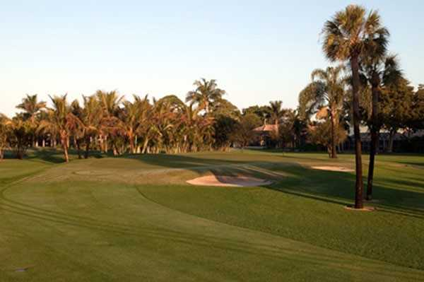 A view of fairway #3 at Moorings Country Club