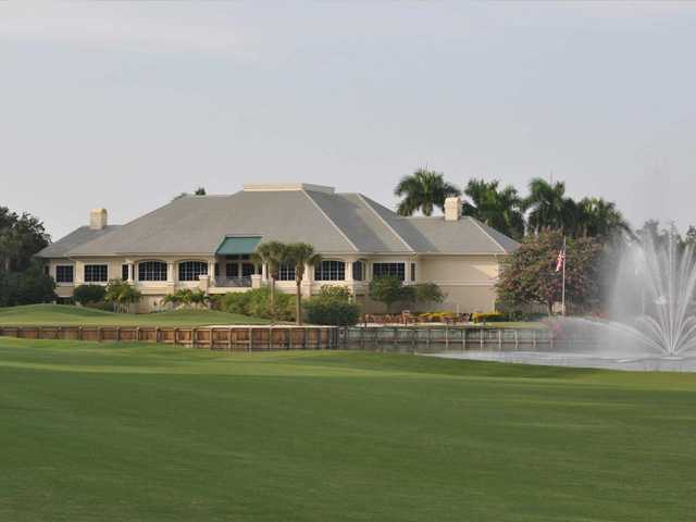 A view of the clubhouse at Stonebridge Country Club