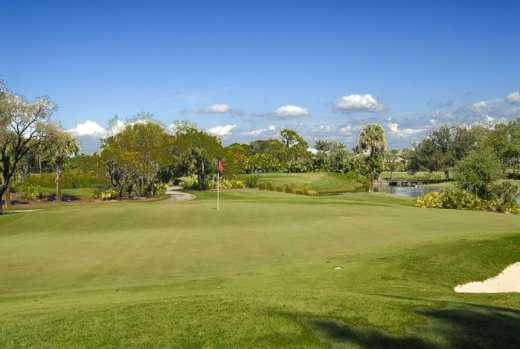 A view of a green at The Club Pelican Bay