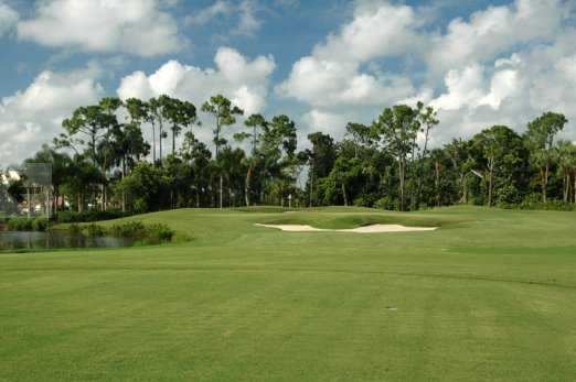 A view from a fairway at The Club Pelican Bay