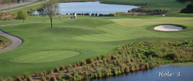 Celebration GC: View from 3rd hole