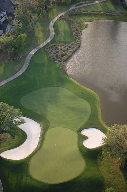 Celebration GC: Aerial view of the 13th hole