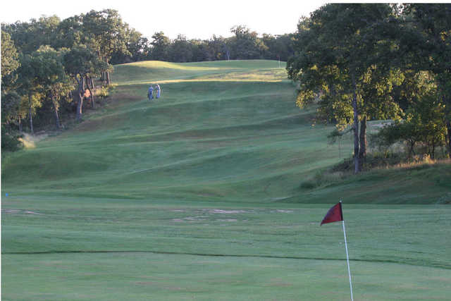 A view from a green at Prairie Oaks Ranch