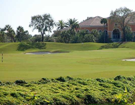 A view of a hole at Country Club At Mirasol