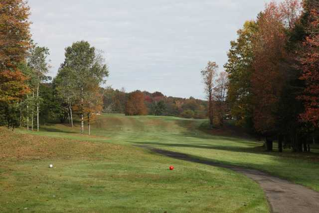 A view from tee #4 at Grandview Farms Golf Course