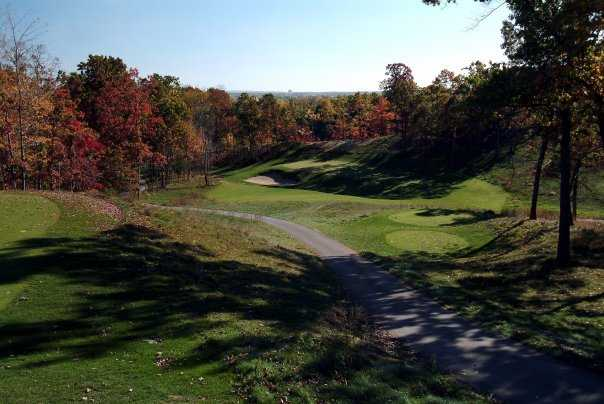 A view of tee at Mines Golf Course