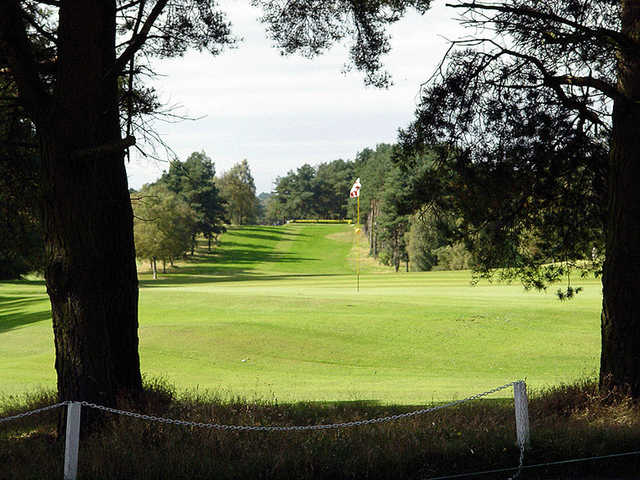 A view from no. 17 at Hayston Golf Club