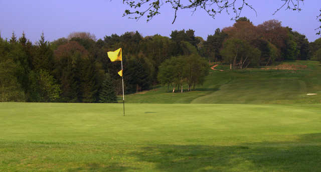 A view of the 7th green at Cowglen Golf Club