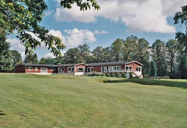 A view of the clubhouse at Drumpellier Golf Club