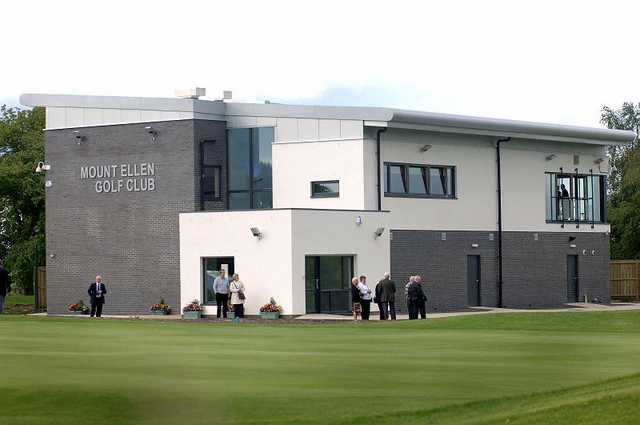 A view of the clubhouse at Mount Ellen Golf Club