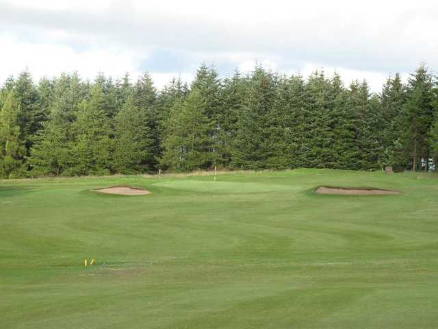 A view of the 4th green at Paisley Golf Club