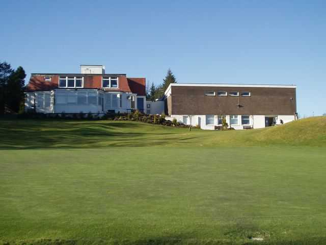 The clubhouse at Bonnyton Golf Club