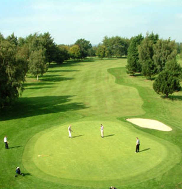 A view of the 5th hole at Massereene Golf Club