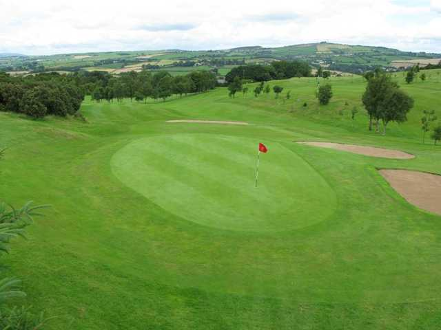 A view of the 6th green at Scrabo Golf Club