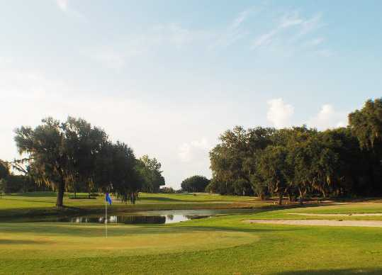 Sunny view from Miona Lake Golf Club