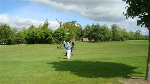 A view of fairway at Corrstown Golf Club