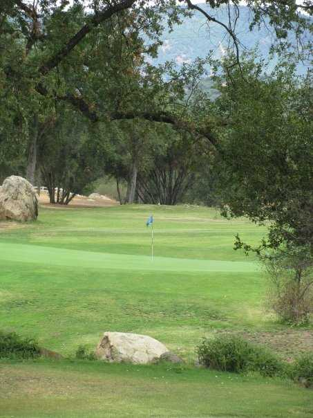 A view of green at River Creek Golf Course