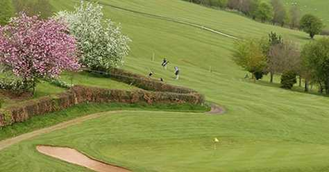 A spring view from Monmouth Golf Club