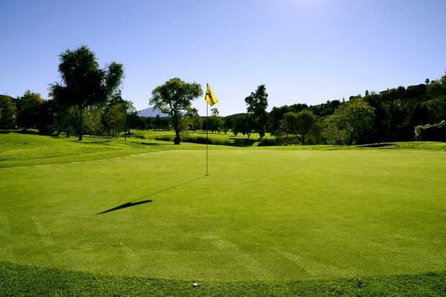 A view of hole #11 at San Vicente Golf Resort.