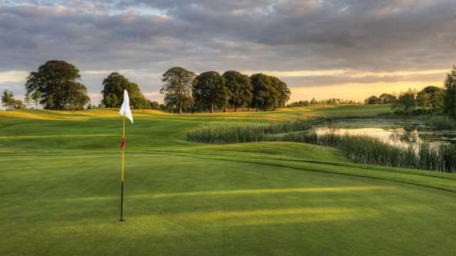 Knightsbrook Hotel & Golf Resort: View from #17
