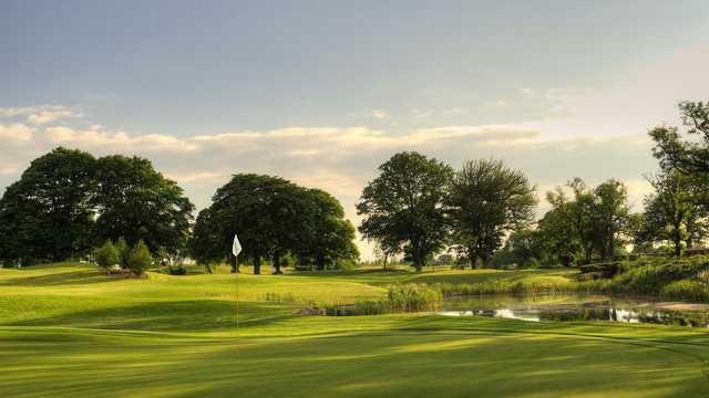 Knightsbrook Hotel & Golf Resort: View from #18