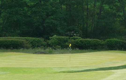 A view of green at Harleyford Golf Club