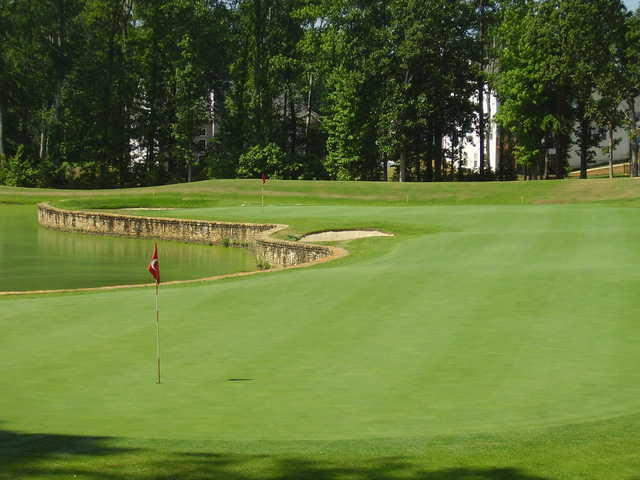 A view of the 3rd hole at Ashton Hills Golf Club