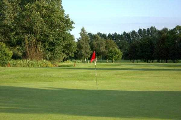 A view of the 14th hole at Helsby Golf Club