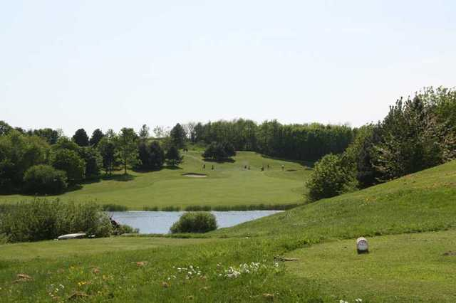 A view from the white tee at China Fleet Country Club