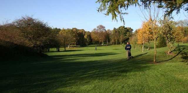 Stretching fairways at Alfreton Golf Club