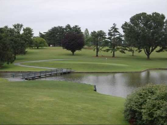 A view from Sleepy Hollow Golf Course