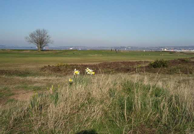 A view of the estuary on the back 9 at Warren Golf Club