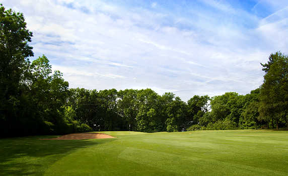 A view from fairway #12 at Broadway Golf Club