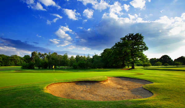A view of hole #5 at Fulwell Golf Club