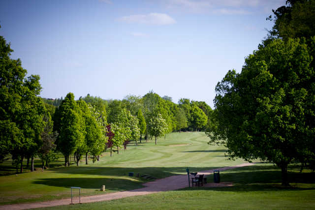 A view of tee at Hendon Golf Club