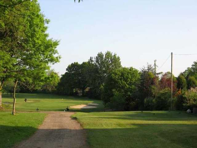 A view of the 3rd tee at Cheadle Golf Club