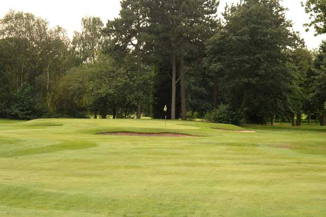 A view of the 9th hole at Davyhulme Park Golf Club